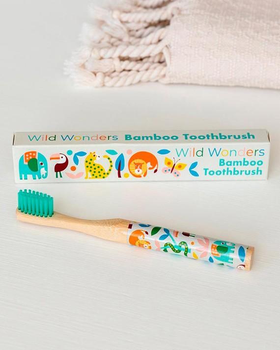 cepillo de dientes rex london de bambú
